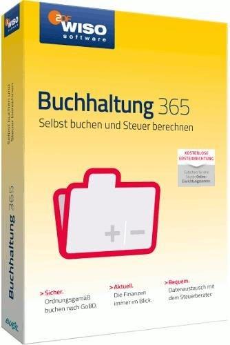 Buhl Data WISO Buchhaltung 365 (PC Win) 1 Jahr DE (Download) - broschei