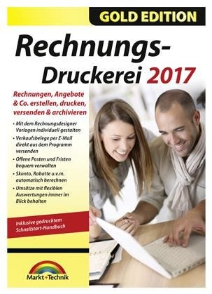 Markt+Technik Rechnungsdruckerei 2017 Gold Edition (PC Win) DE (Download) - broschei