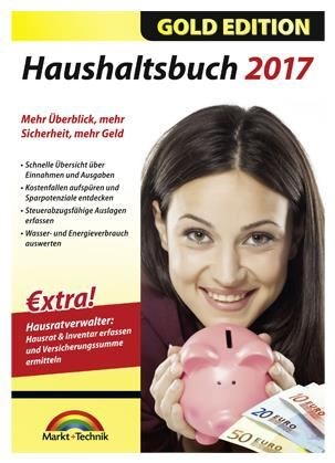 Markt+Technik Haushaltsbuch 2017 Gold (PC Win) DE (Download) - broschei