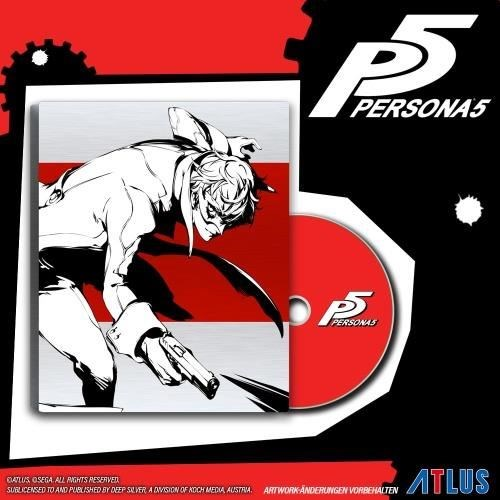 persona 5 limited steelbook d1 edition ps4 sony. Black Bedroom Furniture Sets. Home Design Ideas