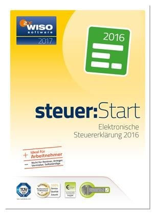 Buhl Data WISO Steuer:Start 2017 (für Steuerjahr 2016) (PC Win) DE (Download) - broschei