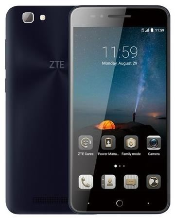 ZTE Blade A612 - Smartphone Dual-SIM 4G LTE 16GB microSDHC slot GSM 12,70cm (5) 1,280 x 720 Pixel IPS 13 MP (2 Vorderkamera) Android dunkelblau (126665001014) - broschei