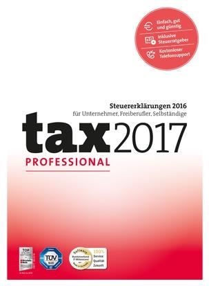 tax 2017 Professional (PC) - broschei