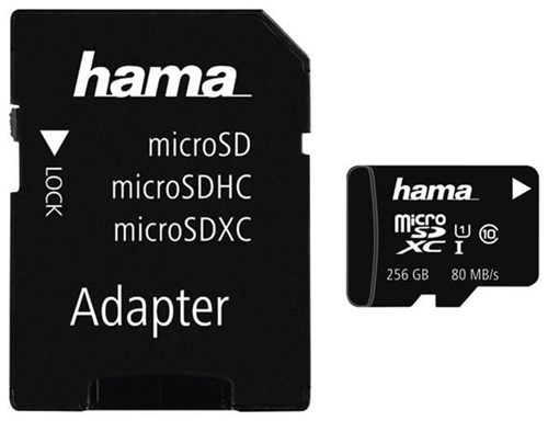 hama 124173 microsdxc class 10 uhs i 128gb inkl adpater. Black Bedroom Furniture Sets. Home Design Ideas