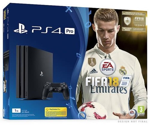 sony playstation 4 pro 1tb fifa 18 ps4 sony. Black Bedroom Furniture Sets. Home Design Ideas