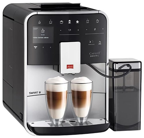 melitta f85 0 101 barista ts smart silver kaffeevollautomaten computeruniverse. Black Bedroom Furniture Sets. Home Design Ideas