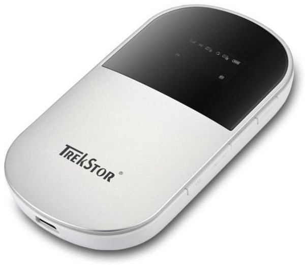 TrekStor Portable WLAN Hotspot miniUSB2.0, UMTS/HSPA, WLAN ...
