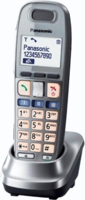Panasonic Mobilteil grau (Telefon) KX-TGA659EXM