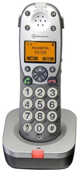 Audioline Amplicom PowerTel 701 zusätzliches Mobilteil