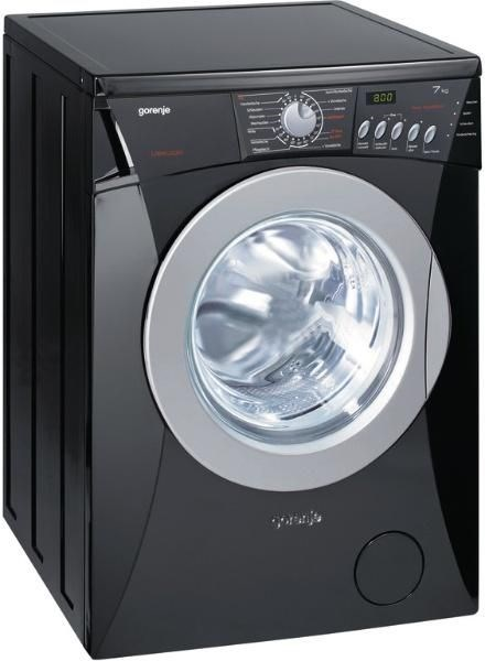 gorenje wa72149bk waschmaschine schwarz washing machines. Black Bedroom Furniture Sets. Home Design Ideas