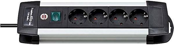 brennenstuhl 1391000014 Premium-Alu-Line 4-fach 1.8m