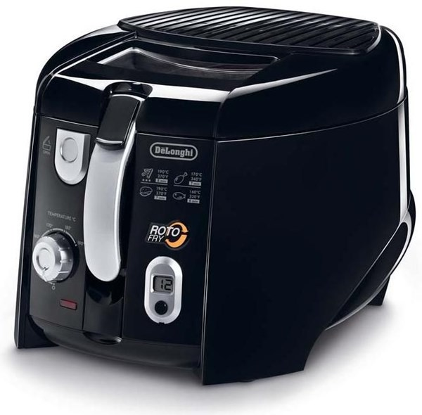 DeLonghi F 28533 Rotofritteuse mit Easy Clean schwarz