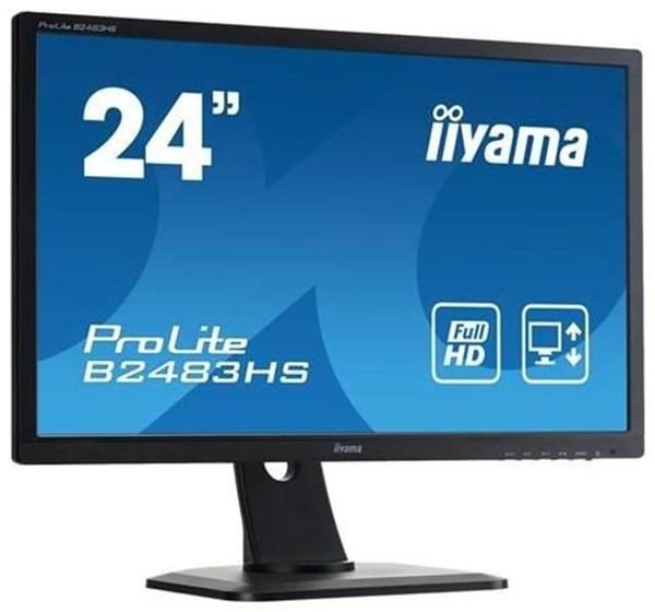 iiyama prolite b2483hs b1 monitore computeruniverse. Black Bedroom Furniture Sets. Home Design Ideas