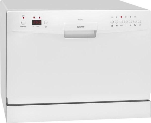 Bomann TSG 707 weiß Tisch-Geschirrspüler - Tabletop Dishwashers ... | {Tischgeschirrspüler 60}