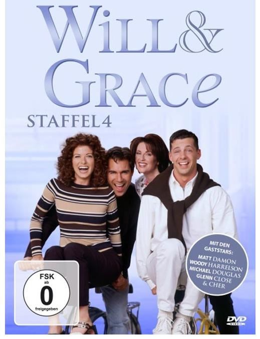 Will & Grace - Season 4 (DVD) DE-Version