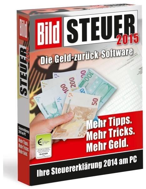 Akademische Arbeitsgemeinschaft Bild Steuer 2015 (für Steuerjahr 2014) Windows - CD-ROM jetztbilligerkaufen