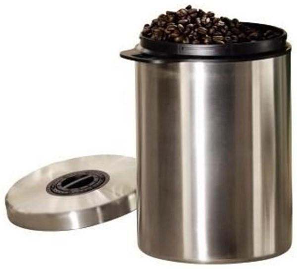 xavax kaffeedose f r 1 kg kaffeebohnen edelstahl zubeh r kaffeemaschinen computeruniverse. Black Bedroom Furniture Sets. Home Design Ideas