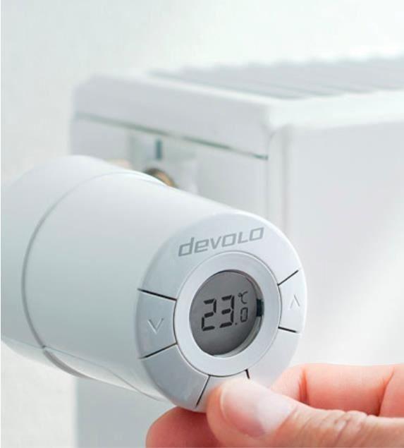 devolo Home Control Heizkörperthermostat