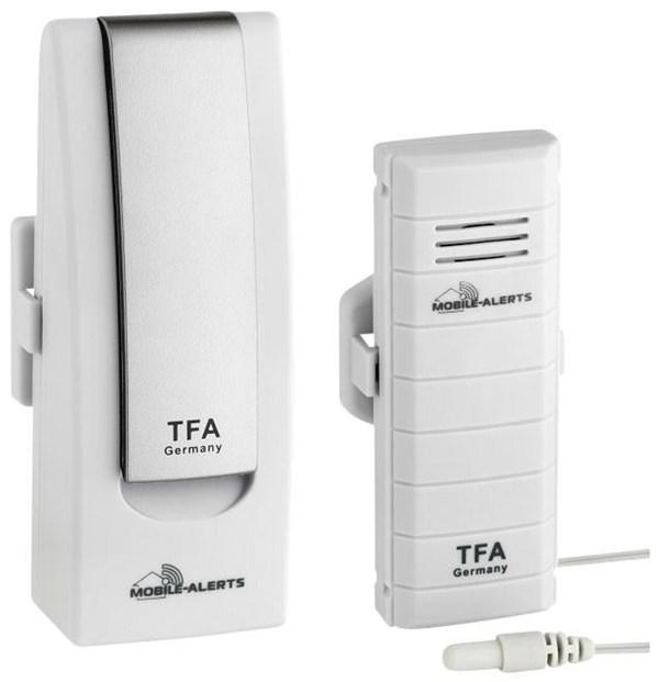 TFA WeatherHub Temperaturmonitor Starter Set 2 inkl. Sender / Kabelfühler - Preisvergleich