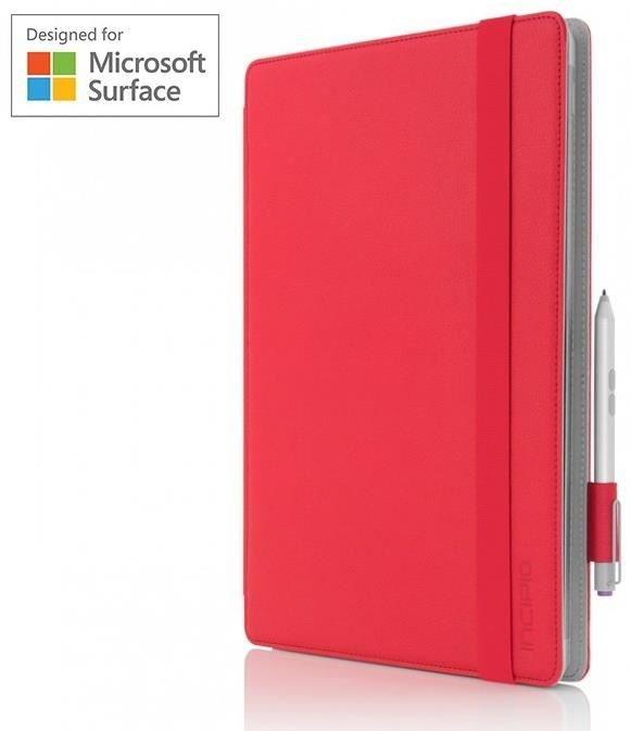 Incipio Roosevelt Folio für Microsoft Surface Pro 3 / Pro 4 rot - Preisvergleich