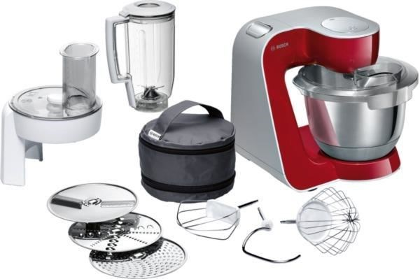 Bosch MUM58720 Küchenmaschine CreationLine deep red - Kitchen ...