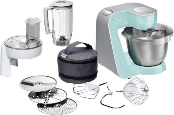 Bosch MUM58020 turquoise/silber - Kitchen Appliances - computeruniverse