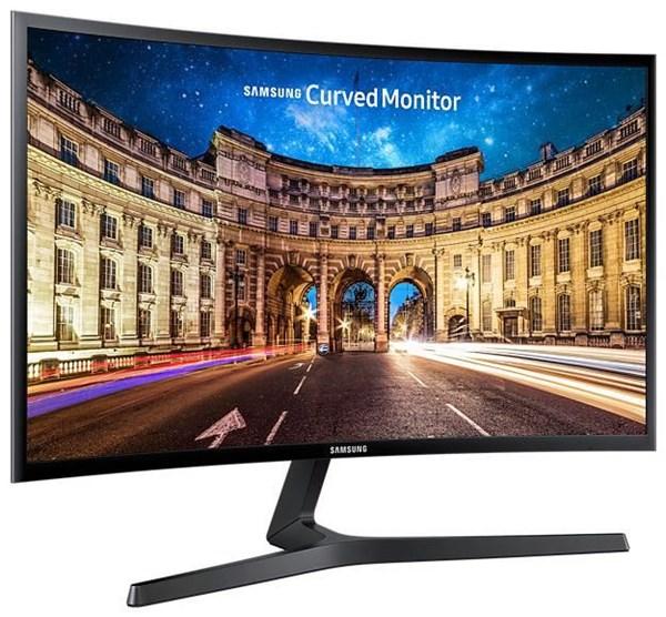 Samsung Curved Monitor C27F396FHU LED (EEK: A)