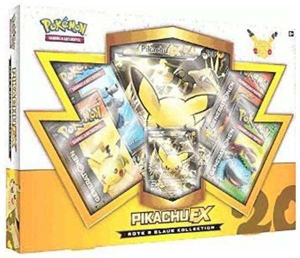 Pokémon Cards Rote & Blaue Kollektion Pikachu-EX