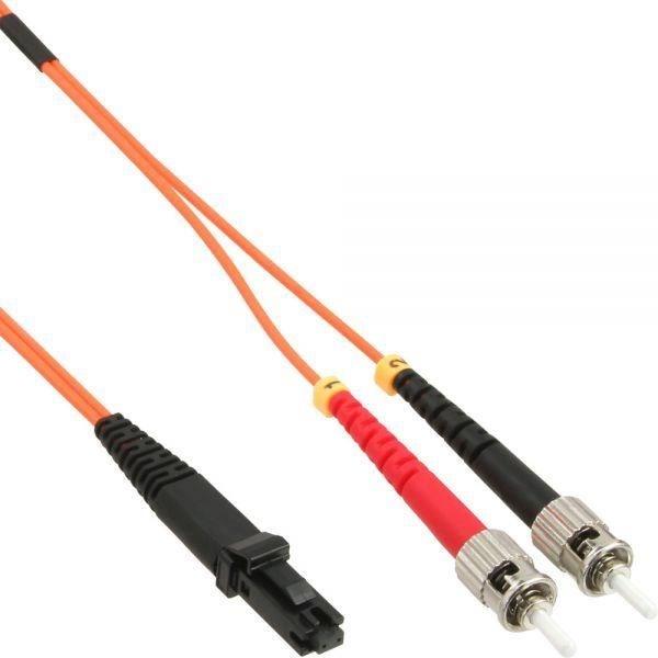 InLine 87352 LWL Duplex-Kabel MTRJ-Stecker auf ST-Stecker 50/125µm OM2 2m - Preisvergleich