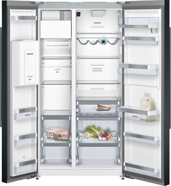 siemens side by ka92dhb31 fridge freezer review