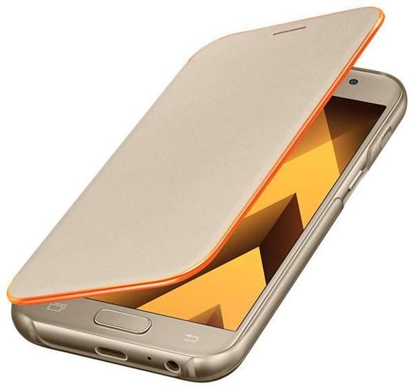 Samsung Neon Flip Cover  für A320F Galaxy A3 (2017) gold