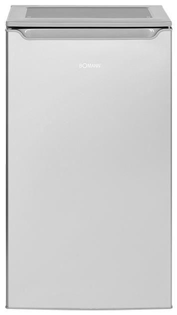 Bomann VS 2262 silber 47cm A+ 90L Vollraumkühlschrank silber (EEK: A+)