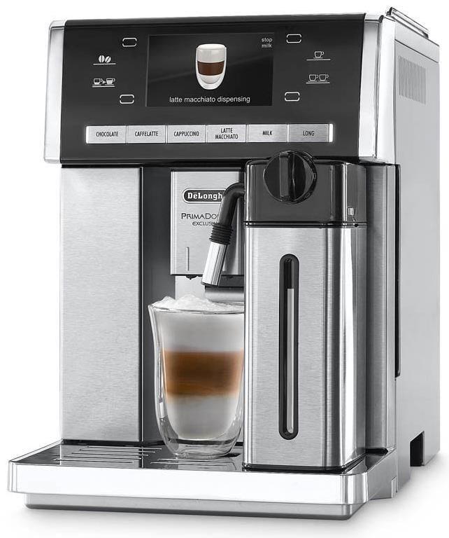 delonghi primadonna esam 6900 m kaffeevollautomat edelstahl kaffeevollautomaten computeruniverse. Black Bedroom Furniture Sets. Home Design Ideas