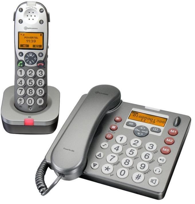Audioline Amplicom PowerTel 880 combo
