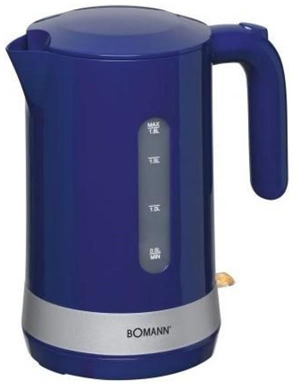 Bomann WK5012CB Wasserkocher blau  Wasserkocher  ~ Wasserkocher Blau
