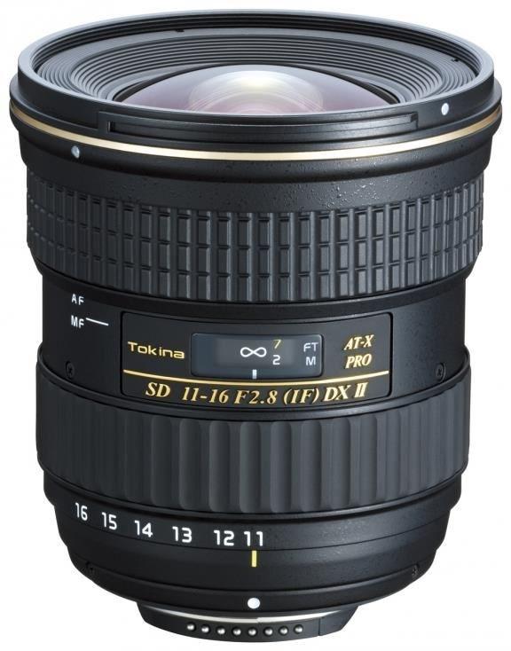 Tokina AT-X 11-16/2.8 Pro DX II Canon für Canon EF-S Anschluss (SLR-Objektiv) T5111611