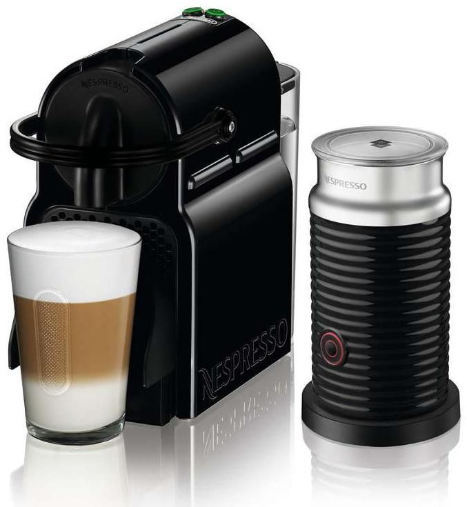 DeLonghi Nespresso EN 80.BAE schwarz Inissia & Milk - Coffee Pod ...