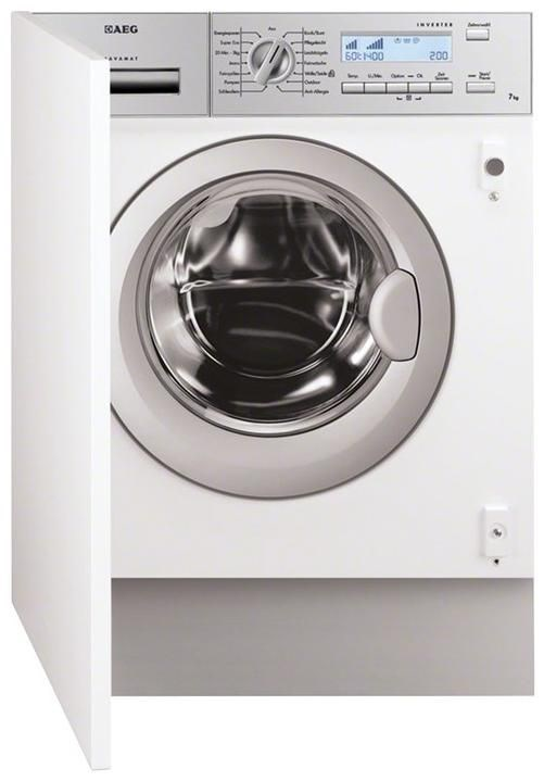 aeg l82470bi wei einbau waschmaschine 7kg a. Black Bedroom Furniture Sets. Home Design Ideas