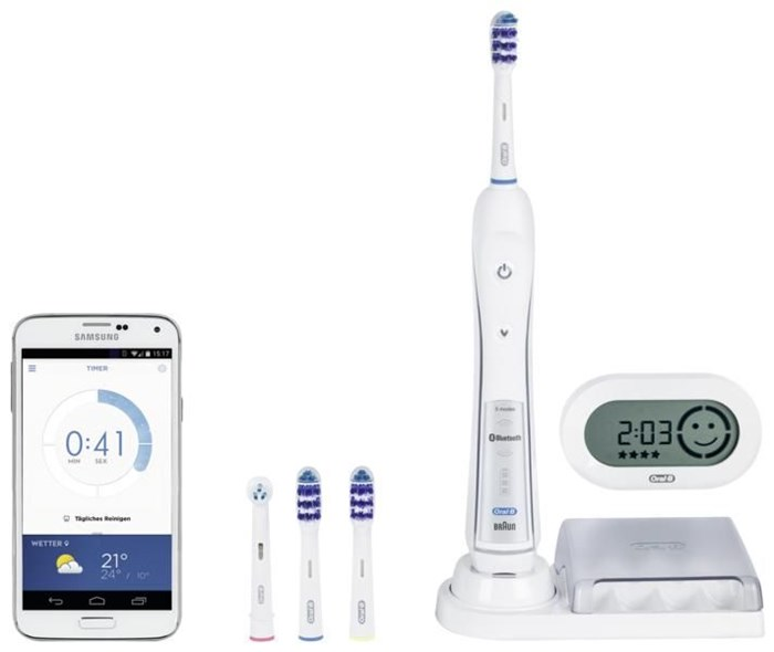 braun oral b trizone 6200 limitierte edition mit gratis. Black Bedroom Furniture Sets. Home Design Ideas