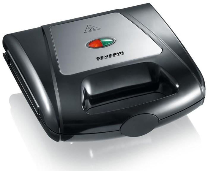 Severin 2968 Multi-Sandwich-Toaster schwarz / chrom