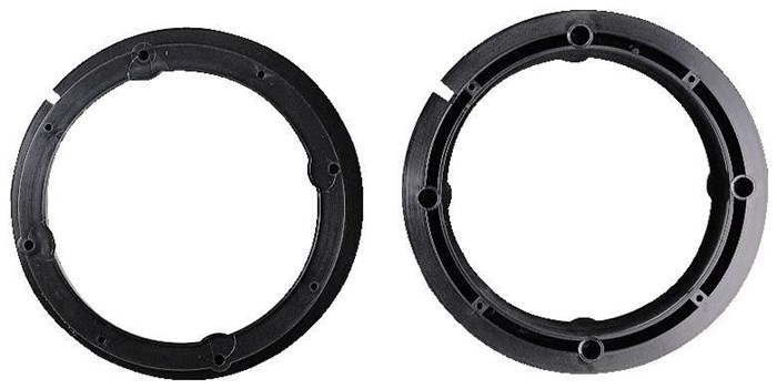Hama 45830 Lautsprecher-Adapterringe für Audi / Seat / Skoda / VW
