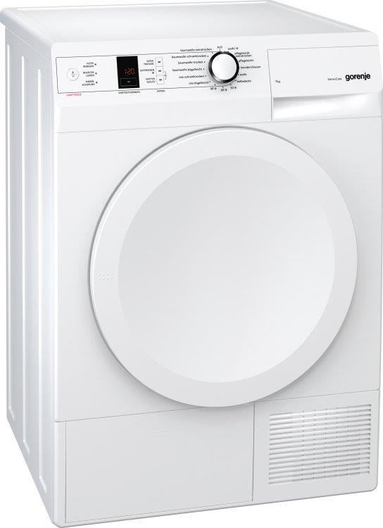 gorenje d 7565 l wei w rmepumpentrockner a 7kg led w schetrockner computeruniverse. Black Bedroom Furniture Sets. Home Design Ideas