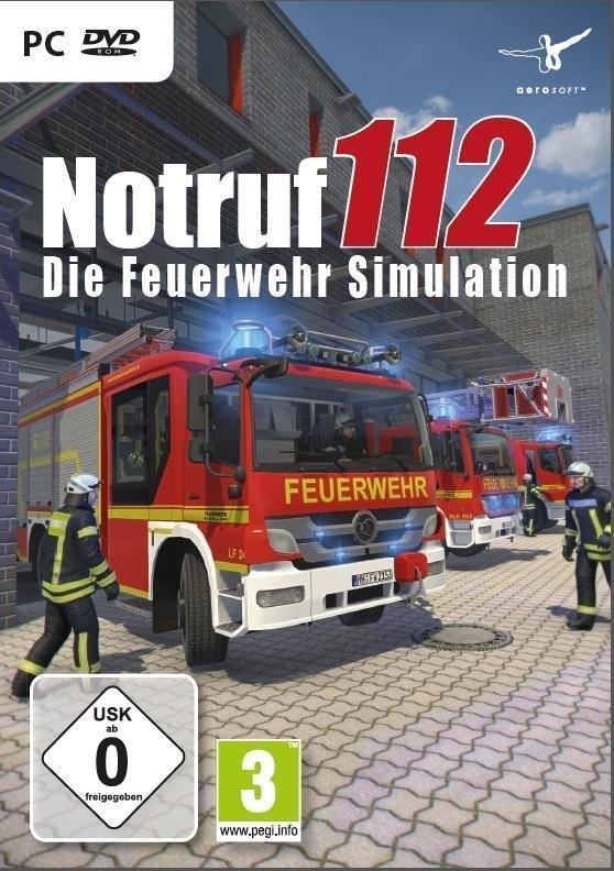 die feuerwehr simulation notruf 112 pc pc spiele computeruniverse. Black Bedroom Furniture Sets. Home Design Ideas