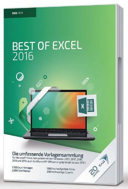 S.A.D. Best of Excel 2016 (PC)