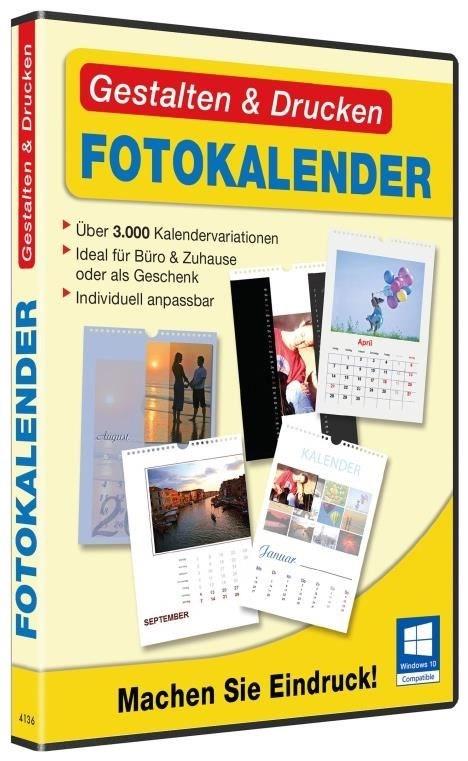 bhv Gestalten & Drucken Fotokalender Windows - DVD