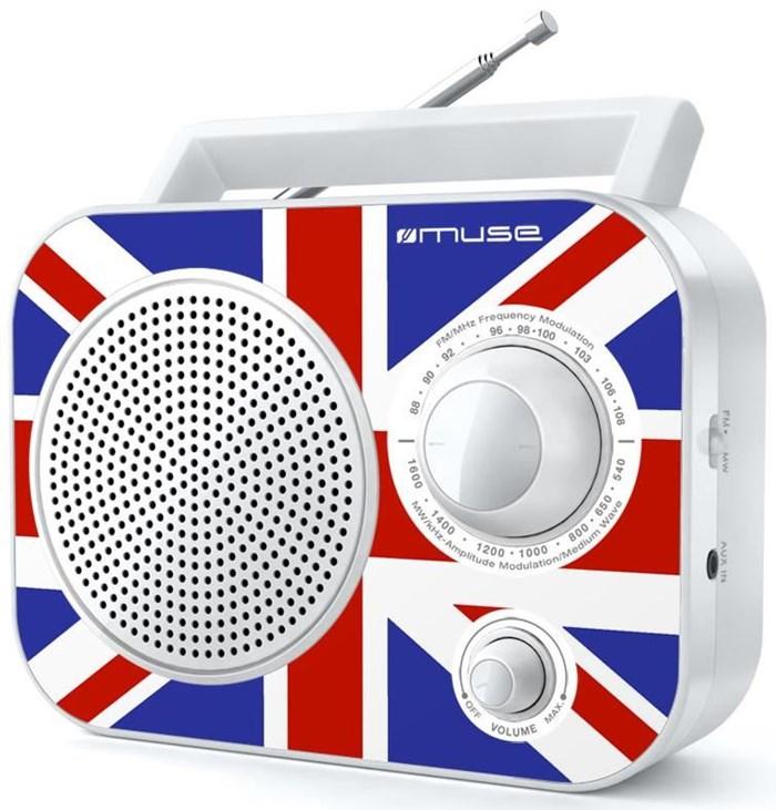Muse M-060UK Kofferradio weiss - Preisvergleich