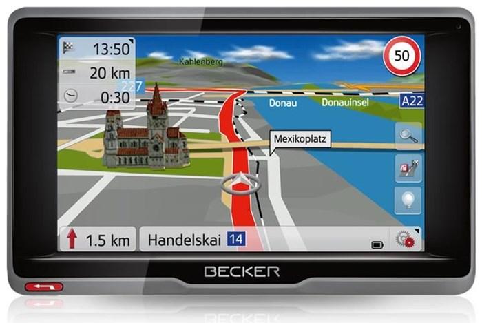 Becker ready 5 eu personal navigation devices for Becker payment plan