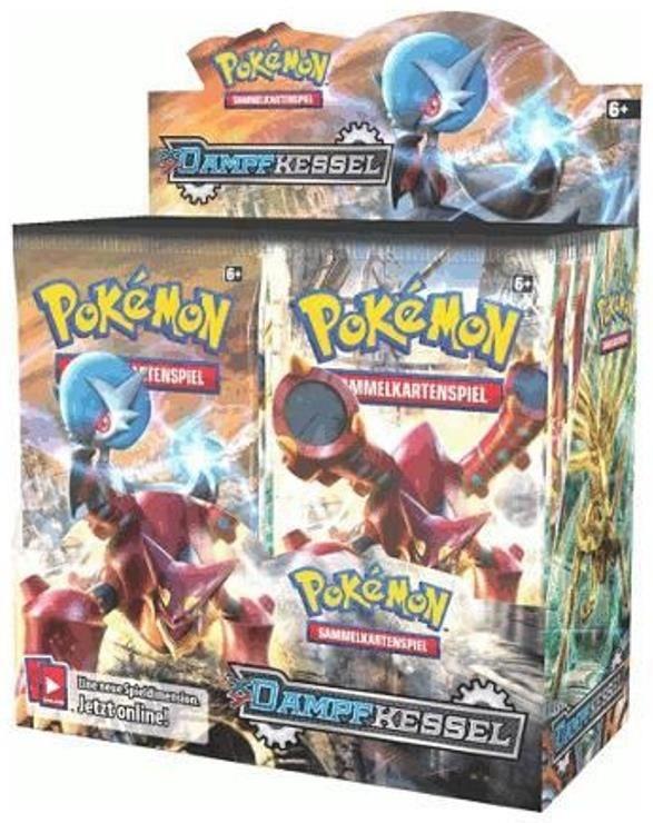 Pokémon XY11 Dampfkessel Booster
