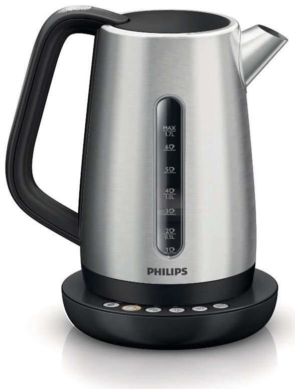 philips hd9385 21 avance wasserkocher edelstahl kettles. Black Bedroom Furniture Sets. Home Design Ideas