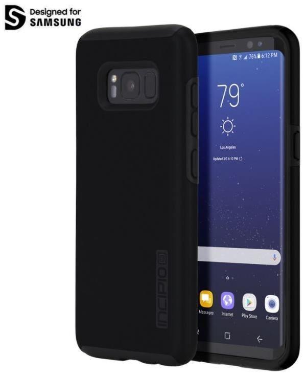 Incipio DualPro Case für Samsung Galaxy S8 schwarz /